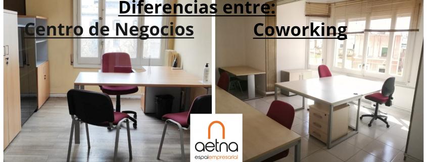 DIFERENCIAS ENTRE CENTREO DE NEGOCIOS Y COWORKING
