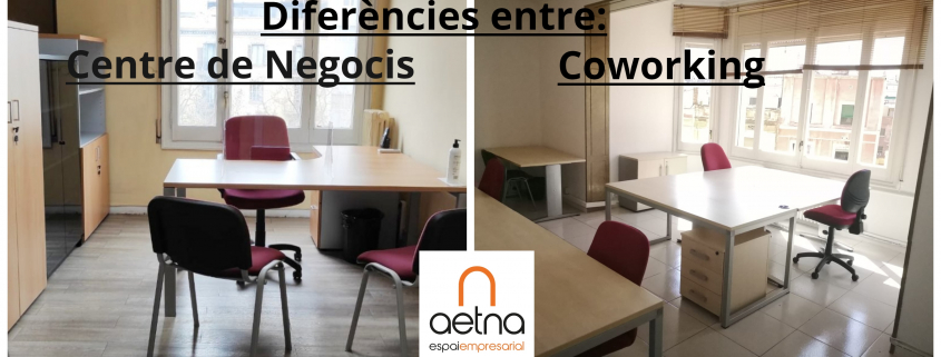Diferències entre centre de negocis i coworking